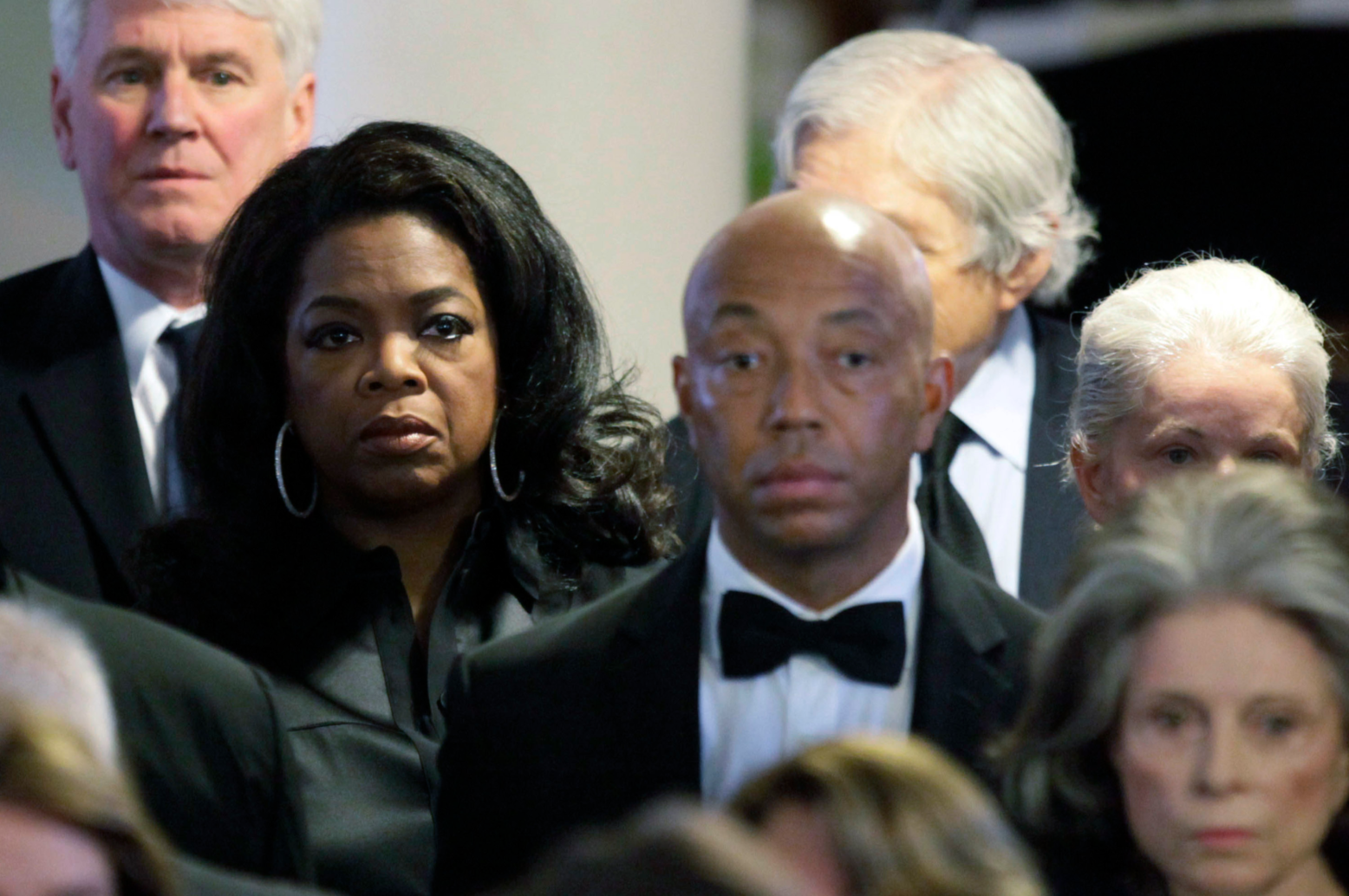 Oprah and Russell Simmons