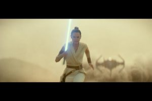 """Daisy Ridley as Rey in """"Star Wars: The Rise Of Skywalker"""""""
