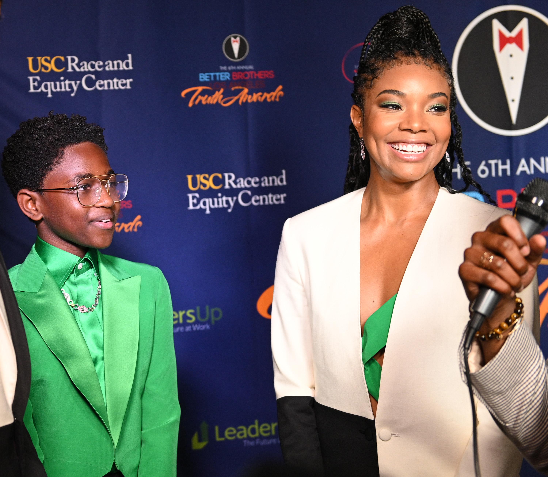 Zaya Wade and Gabrielle Union