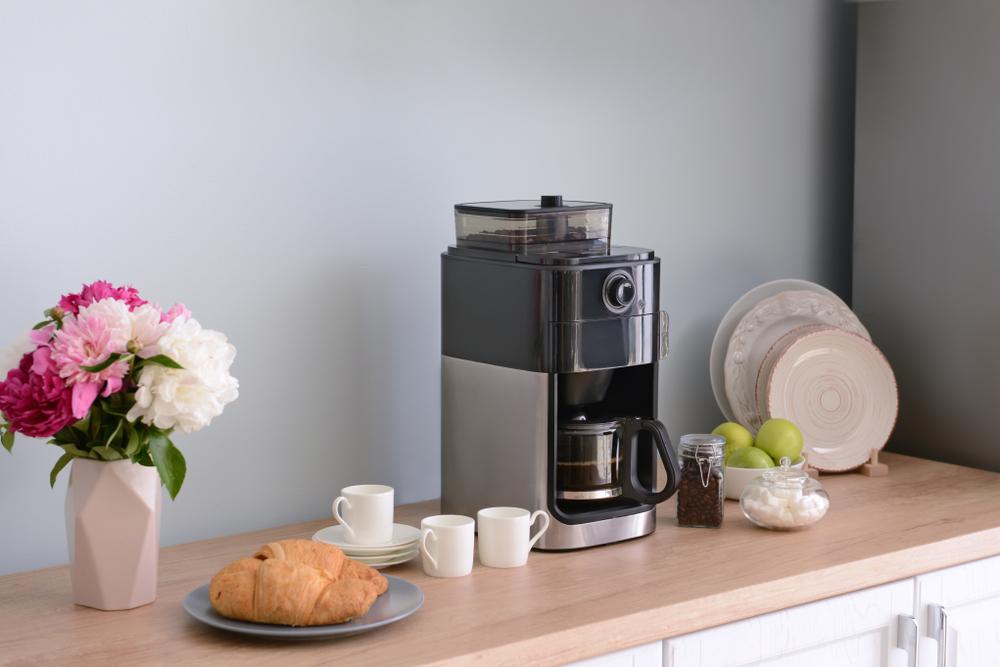 kitchen coffee marker station