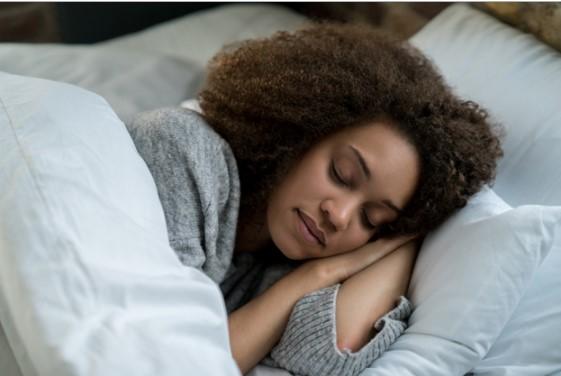 black women sleeping