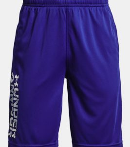 blue boys under armour shorts