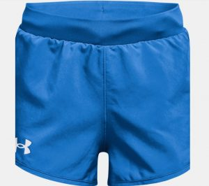 blue girls under armour shorts