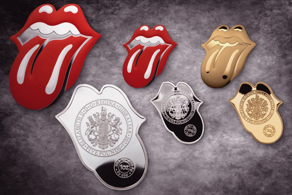 Rolling Stones - Tongue and Lips coin